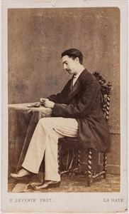 Portret van Carel Jan Emilius graaf van Bylandt (1840-1902)