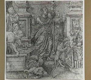 Hercules wurgt twee slangen (Theocrites 24)