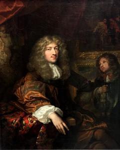 Portret van een man, waarschijnlijk Pieter Six (1655-1703)