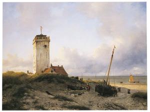 De vuurtoren van Katwijk aan Zee