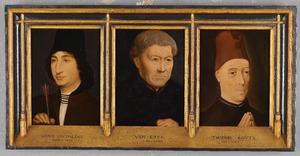Drie mansportretten
