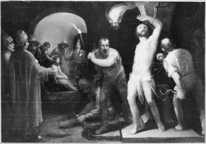 De geseling en bespotting van Christus (Mattheus 27:26-31)