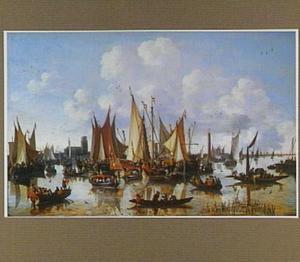 De aankomst van Willem III te Dordrecht