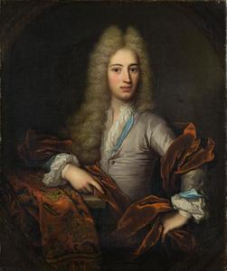 Portret van Allard de la Court (1688-1755)