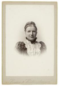 Portret van Boudewina van Capelle (1843-1910)