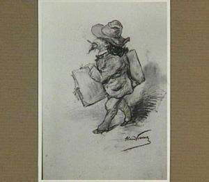 Portretkarikatuur van Pieter Johannes Mak (1842-1929)
