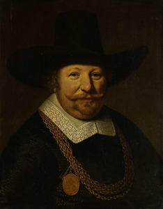 Portret van Joos Banckers genaamd Van Trappen (1598-1647)