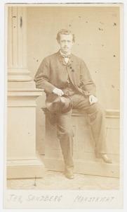 Portret van Willem Lodewijk Constantijn Sandberg (1841-1902)