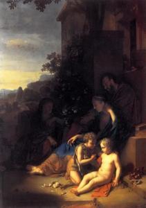 De beide heilige families