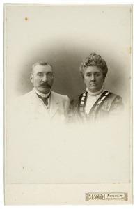 Dubbelportret van Frits en Sofie Eijmers