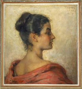 Portret van Marijke D'Hont