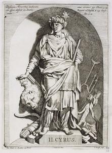 Koning Cyrus (559-530 v. Chr.), grondlegger van het Perzische Rijk