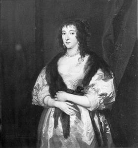 Portret van Elisabeth Lady Herbert of Raglan