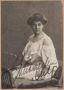 Portret van Julia Bertha Culp (1880-1970)