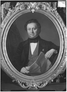 Portret van Marcellus Bisdom (1806-1877)