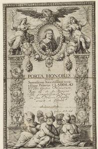 Ttitelpagina met oortret van Wladislaus IV, koning van Polen (1595-1648)