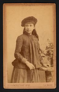 Portret van mej. Zelie Hanckar (1874- )