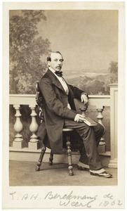 Portret van Emmericus Antonius Henricus Berckmans de Weert (1814-1898)
