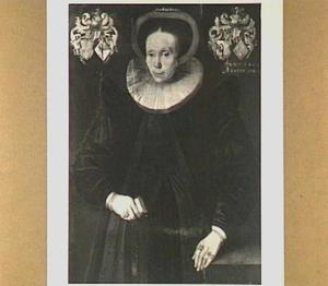 Portret van Rixt van Roorda (1561-1625)