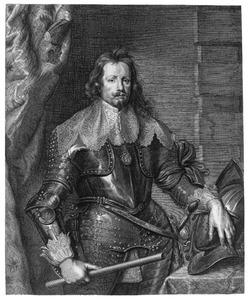 Portret van Frans Thomas van Savoyen, prins van Carignan, veldheer en interim landvoogd van de Zuidelijke Nederlanden