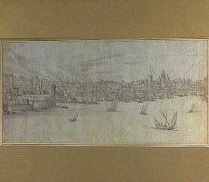 Genua, vanuit het westen gezien