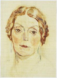 Portret van Clara Maria Dreher (1873-1941)