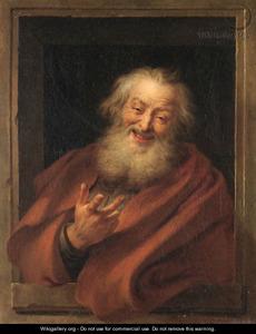 Lachende Democritus