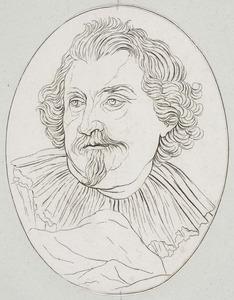 Porrtet van Karel van Mallery (1571-1635)