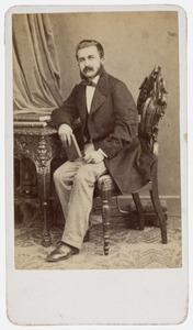 Portret van David van Weel, mogelijk David van Weel (1830-1886)