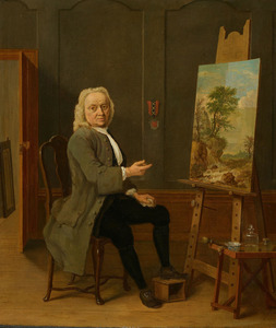 Portret van Jan van Dijk (1690-1769)