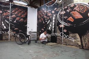 Rob Scholte in zijn atelier