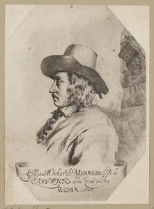 Portret van Matthijs van der Merwede (1613-1664)