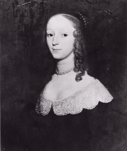 Portret van Helena van Hoecklum tot Spaansweerd ( -1650)