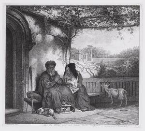 Tobit verwijt Anna het bokje gestolen te hebben (Tobias 2-3)