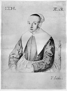 Portret van Jacomijntje Plasse, echtgenote van Samuel ter Hiel