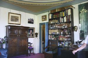 Voormalige woonkamer van Carel Willink aan de Ruysdaelkade 15 te Amsterdam