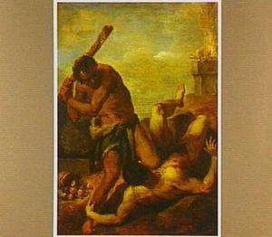 De broedermoord van Kain en Abel (Genesis 4:8)