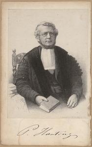 Portret van Pieter Harting (1813-1885)