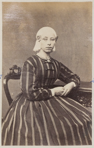 Portret van een vrouw uit familie De Kant