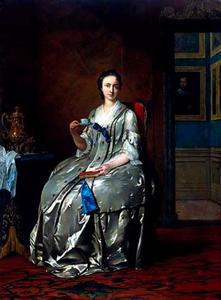 Portret van Machteld Muilman (....-1773)