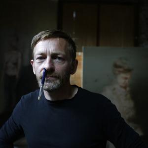 Portret van Michaël Borremans