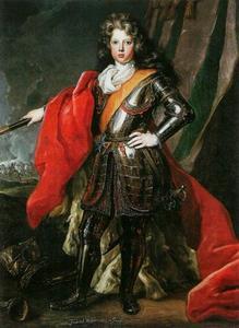 Portret van Friedrich Wilhelm I van Pruisen (1688-1740) als kroonprins
