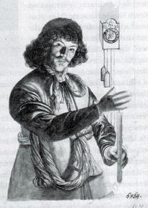 Zelfportret van Michael Conrad Hirt (1613-1671)