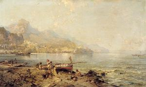 Amalfi, Golf van Salerno