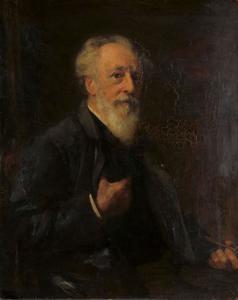 Portret van Johannes Anthonie Balthasar Stroebel (1821-1905)