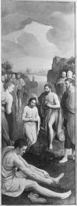De Viglius-triptiek: de doop van Christus