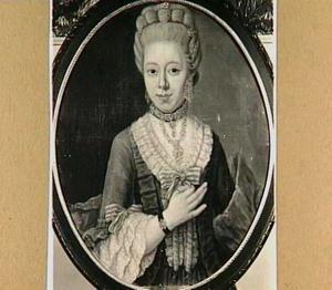 Portret van Petronella Margaretha de Vries van Vossen