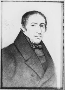 Portret van Philippus Johannes Gelderman (1782-1854)