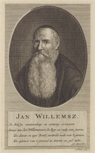 Portret van Jan Willemsz. (1583-1660)
