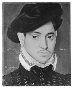 Portret van een negentienjarige man